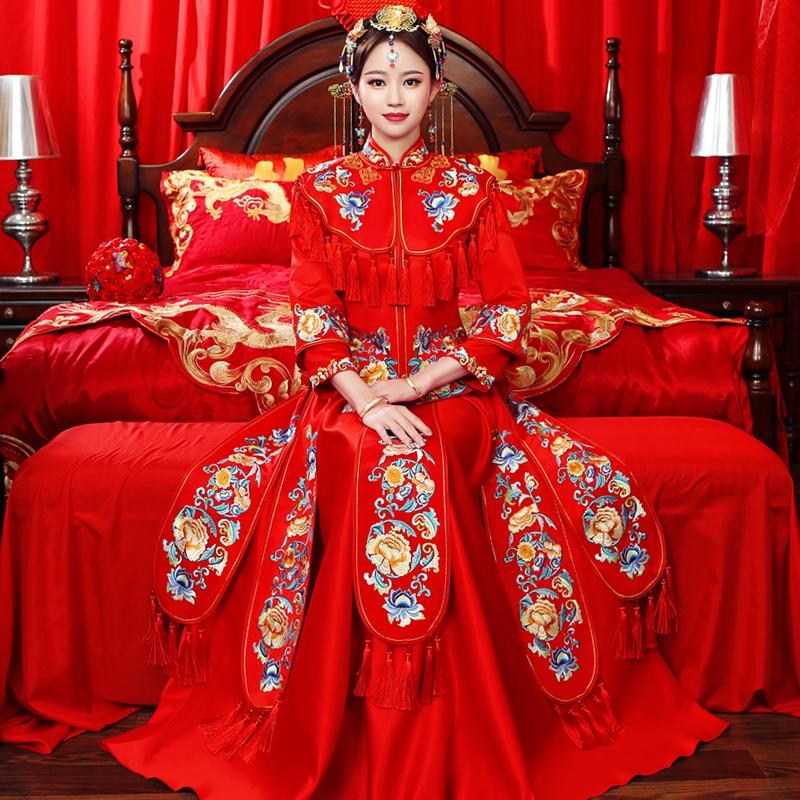 สั่งซื้อของจากจีน ชุดแต่งงานจีน